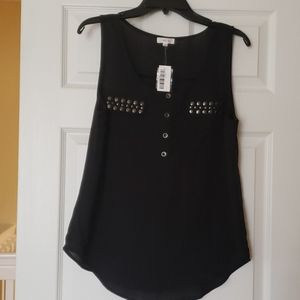 NWT, Tank Top with Details, L